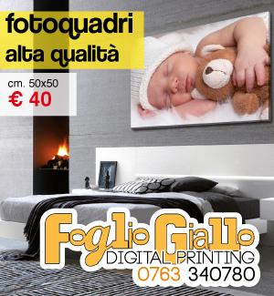 Foglio Giallo Digital Printing - fotoquadri