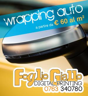 Foglio Giallo Digital Printing - wrapping